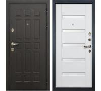 Входная металлическая дверь Лекс 8 Сенатор Ясень белый (панель №34)