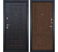 Входная металлическая дверь Лекс Гладиатор 3К Энигма-1 Орех (панель №57)