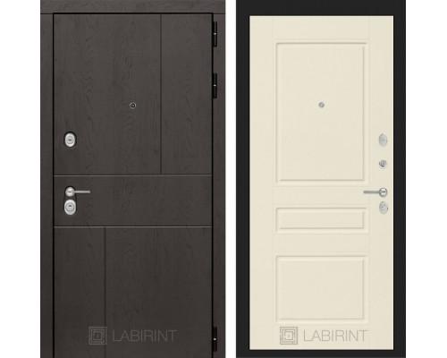 Входная дверь Labirint URBAN 03 - Крем софт