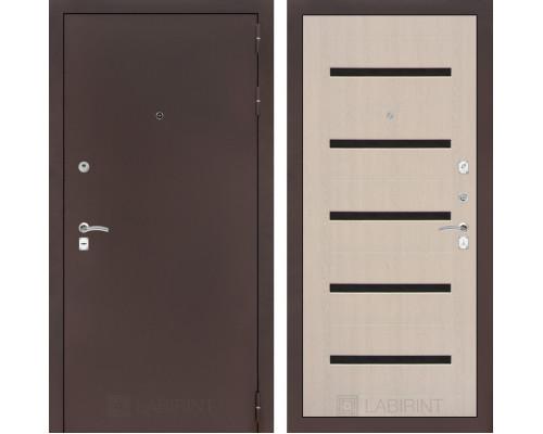 Входная дверь CLASSIC антик медный 01 Беленый дуб