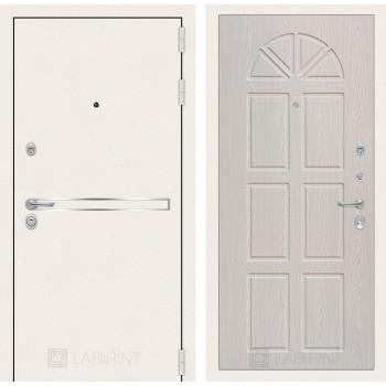 Входная дверь Labirint Лайн WHITE 15 Алмон 25
