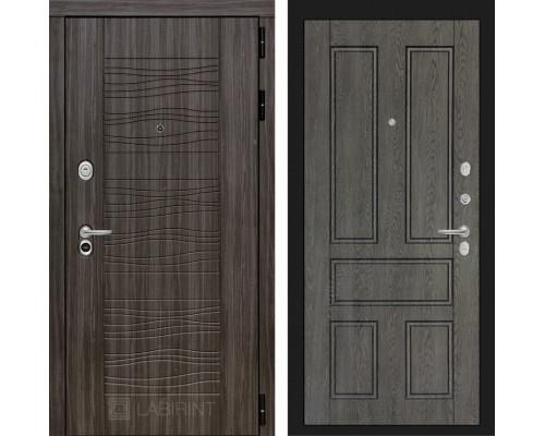 Входная дверь Labirint SCANDI Дарк грей 10 - Дуб филадельфия графит