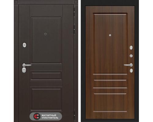 Входная дверь Labirint Мегаполис 03 - Орех бренди
