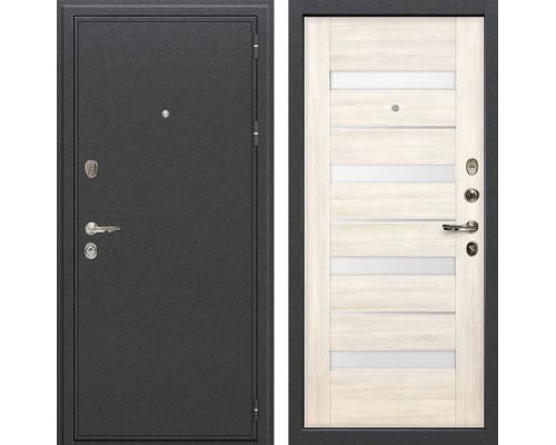 Входная металлическая дверь Лекс Колизей Сицилио Дуб беленый (панель №46)