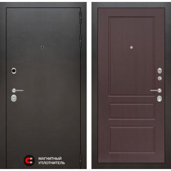 Входная дверь Labirint SILVER 03 - Орех премиум