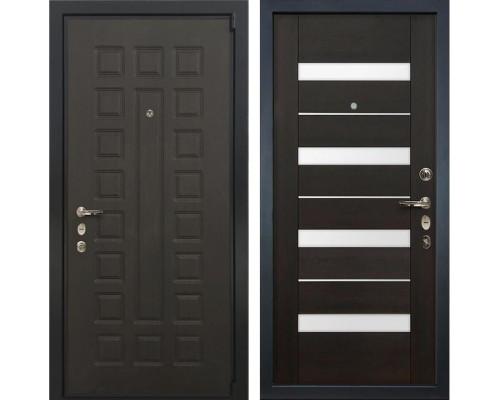 Входная металлическая дверь Лекс 4А Неаполь Mottura Сицилио Венге (панель №51)
