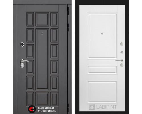 Входная дверь Labirint Нью-Йорк 03 - Белый софт
