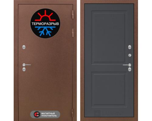 Входная дверь с терморазрывом Labirint Термо Магнит 11 Графит софт