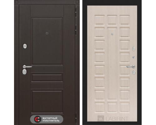 Входная дверь Labirint Мегаполис 04 - Беленый дуб