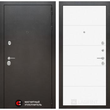 Входная дверь Labirint SILVER 13 - Белый софт