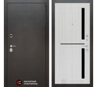Входная дверь Labirint SILVER 02 - Сандал белый