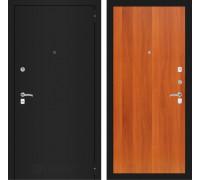 Входная дверь Labirint CLASSIC шагрень черная 05 - Итальянский орех