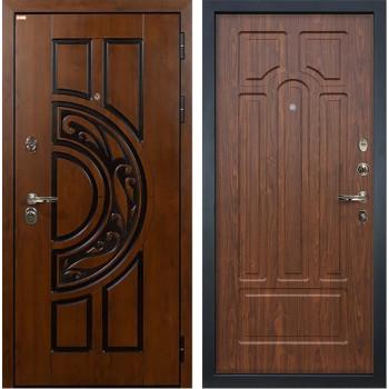Входная металлическая дверь Лекс Спартак Cisa Берёза морёная (панель №26)