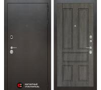 Входная дверь Labirint Сильвер 10 - Дуб филадельфия графит