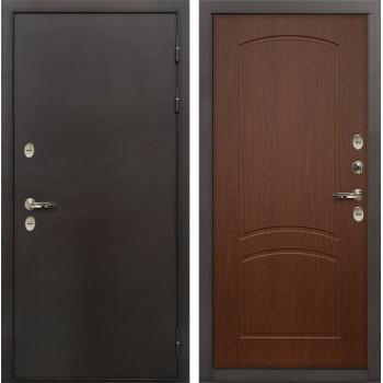 Входная металлическая дверь с терморазрывом Лекс Термо Сибирь 3К Береза мореная (панель №11)