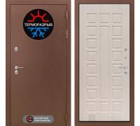 Входная дверь с терморазрывом Labirint Термо Магнит 04 Беленый дуб