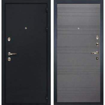 Входная металлическая дверь Лекс 2 Рим Графит софт (панель №70)