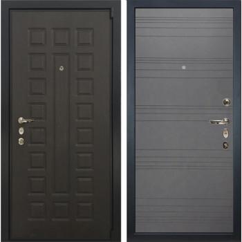 Входная металлическая дверь Лекс 4А Неаполь Mottura Графит софт (панель №70)