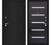 Входная дверь Labirint CLASSIC шагрень черная 01 - Венге