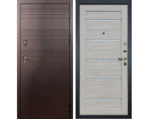Входная металлическая дверь Лекс Легион Клеопатра-2 Ясень кремовый (панель №666)