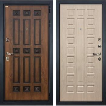 Входная металлическая дверь Лекс Гладиатор 3К Винорит Белёный дуб (панель №20)