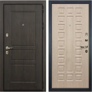 Входная стальная дверь Лекс Сенатор Винорит Белёный дуб (панель №20)