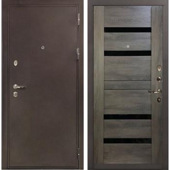 Входная металлическая дверь Лекс 5А Цезарь Неро Графит Шале (панель №65)