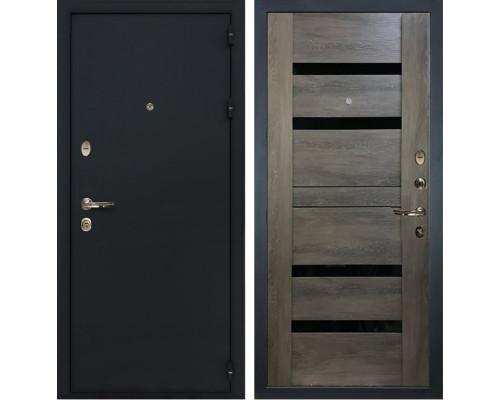 Входная металлическая дверь Лекс Рим Неро Графит Шале (панель №65)