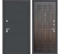 Входная дверь Labirint ART графит 16 Алмон 28
