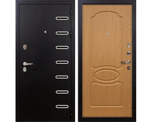Входная металлическая дверь Лекс Витязь Дуб натуральный (панель №15)