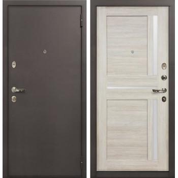 Входная стальная дверь Лекс 1А Баджио (№49 Ясень кремовый)