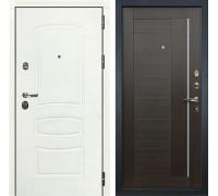 Входная дверь Лекс Сенатор 3К Шагрень белая Верджиния (№39 Венге)