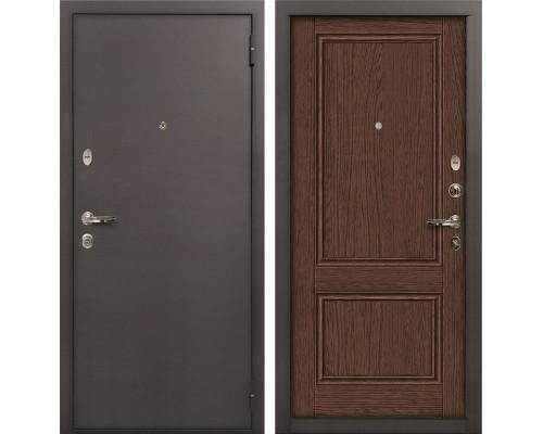 Входная стальная дверь Лекс 1А Энигма-1 (№57 Орех)