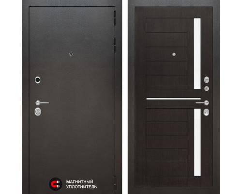 Входная дверь Labirint SILVER 02 - Венге