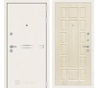 Входная дверь Labirint Лайн WHITE 12 Беленый дуб