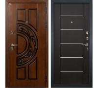 Входная металлическая дверь Лекс Спартак Cisa Молдинг Венге (панель №24)