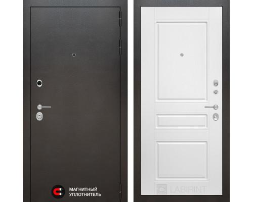 Входная дверь Labirint SILVER 03 - Белый софт