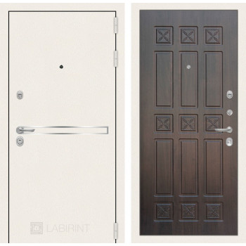 Входная дверь Labirint Лайн WHITE 16 Алмон 28