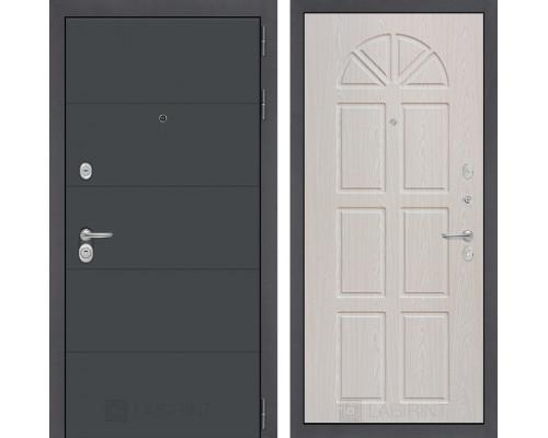 Входная дверь Labirint ART графит 15 Алмон 15