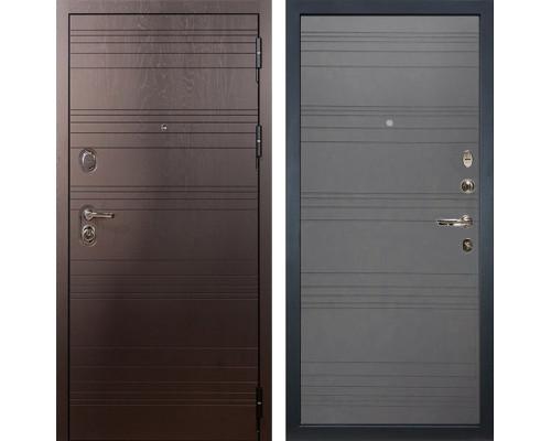 Входная металлическая дверь Лекс Легион Графит софт (панель №70)