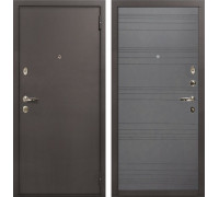 Входная стальная дверь Лекс 1А (№70 Графит софт)