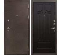 Входная металлическая дверь Лекс 5А Цезарь Венге (панель №32)