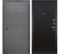 Входная металлическая дверь Лекс Сенатор 3К Софт графит (№43 Венге)