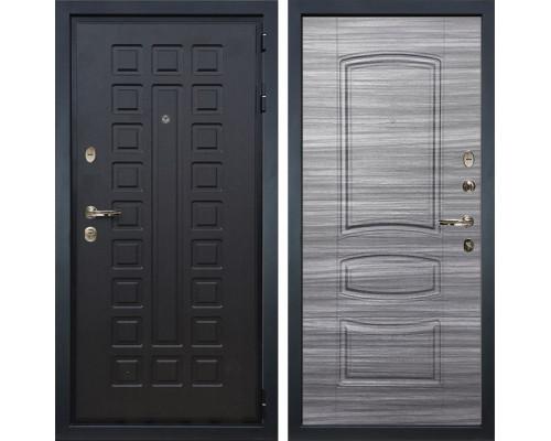 Входная металлическая дверь Лекс Гладиатор 3К Сандал серый (панель №69)