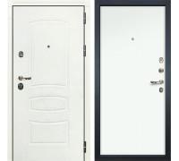 Входная металлическая дверь Лекс Сенатор 3К Шагрень белая (№59 Белый Винорит)