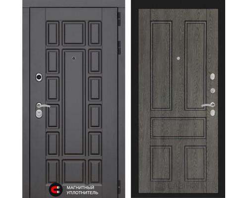 Входная дверь Labirint Нью-Йорк 10 - Дуб филадельфия графит