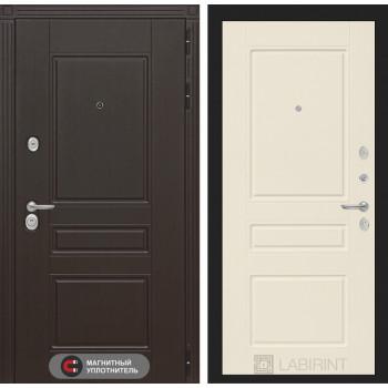 Входная дверь Labirint Мегаполис 03 - Крем софт