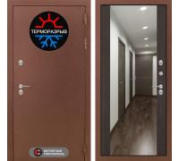 Входная дверь Labirint Термо Магнит с Зеркалом Максимум Венге