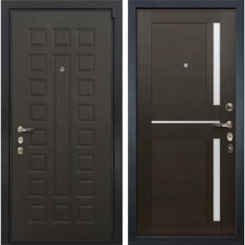 Входная металлическая дверь Лекс 4А Неаполь Mottura Баджио Венге (панель №50)