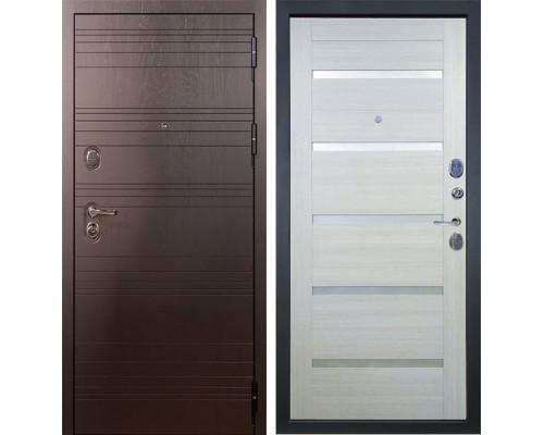 Входная металлическая дверь Лекс Легион Клеопатра-2 Белёный дуб (панель №58)